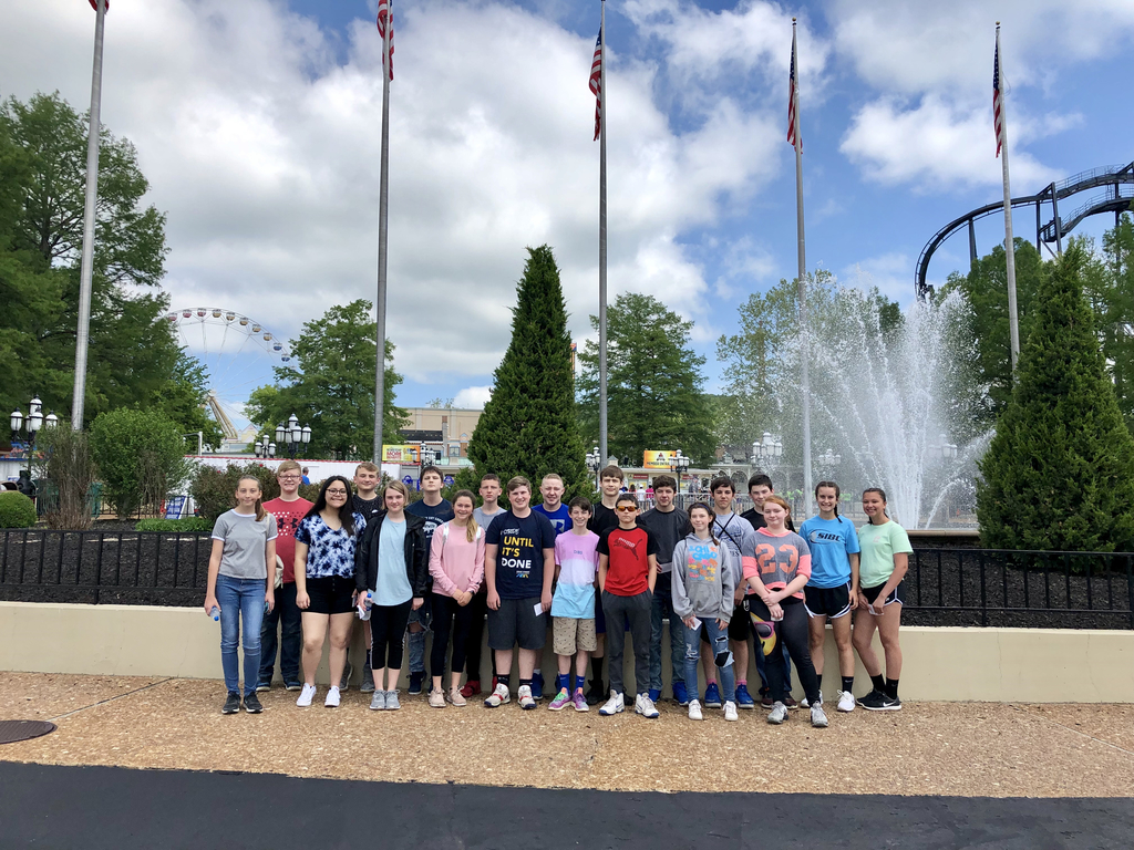 8th Grade Trip to Six Flags
