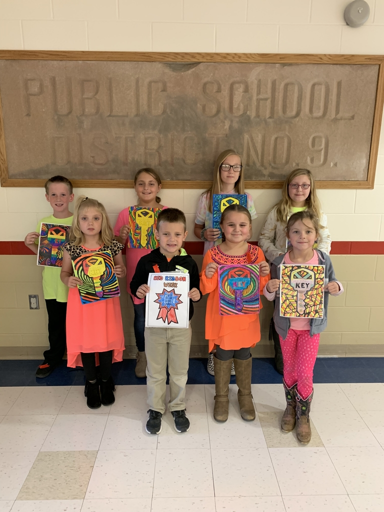 Red Ribbon coloring contest winners