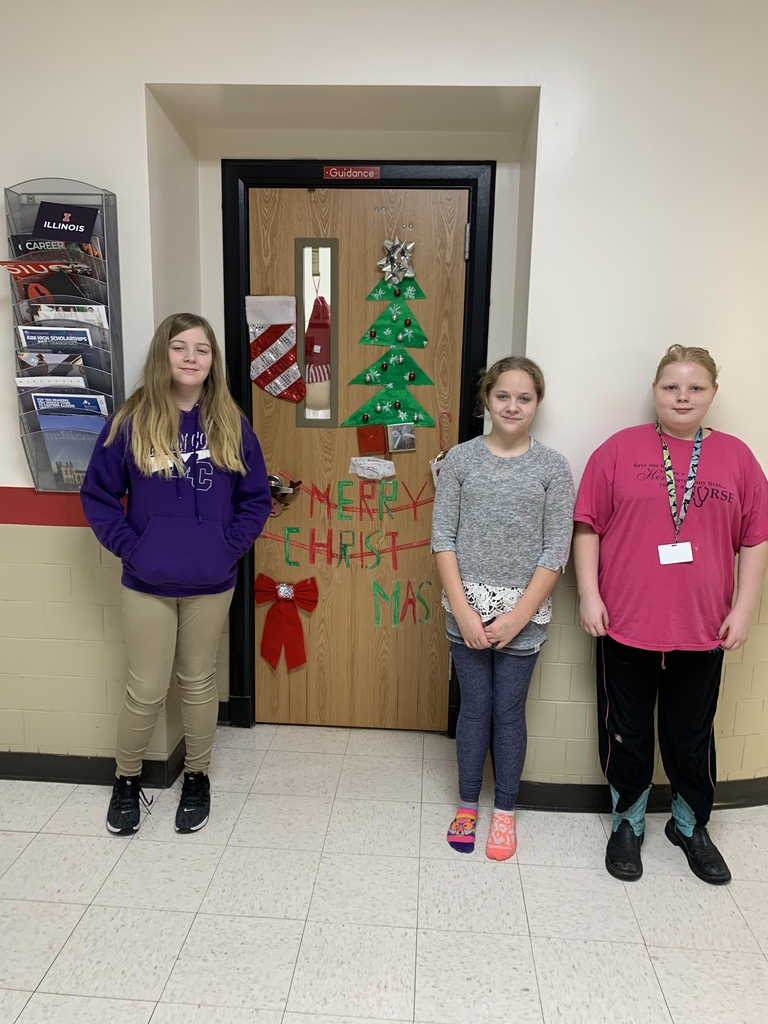 6th graders had fun decorating Mrs. Keller's office door!
